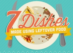 7 Dishes Made Using Leftover Food