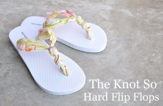 Tutorial – The Knot So Hard Flip Flop Diy