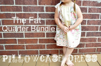 Tutorial – Fat Quarter Pillow Case Dress