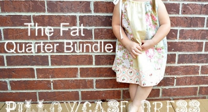 Tutorial – Fat Quarter Pillow Case Dress